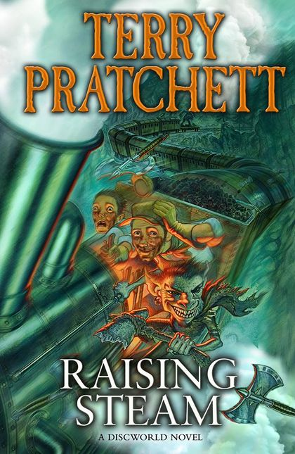 25 Reads: Raising Steam by Terry Pratchett