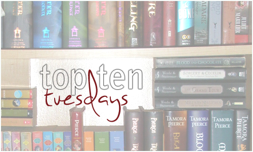 TTT: Bookish Thanks