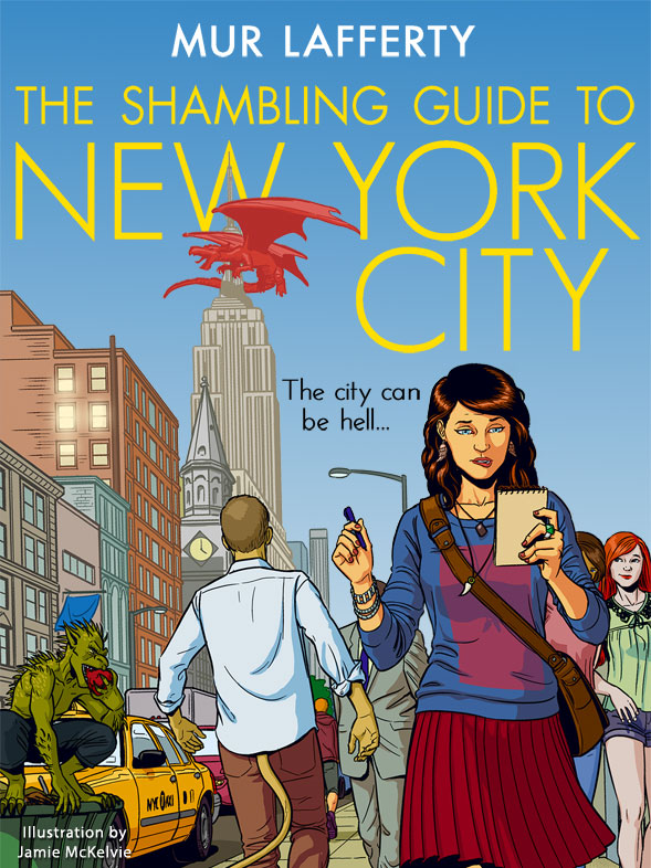 25 Reads: The Shambling Guide to New York City by Mur Lafferty