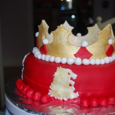 A Song of Ice and Fire - Lannister Cake