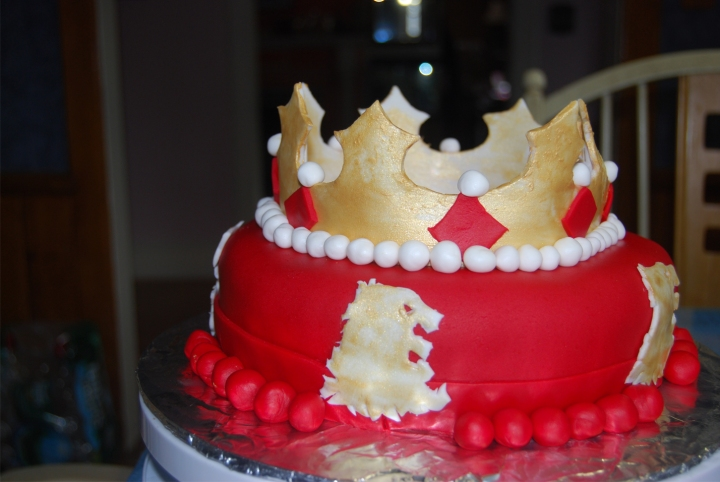Food and Fandom: Lannister Cake