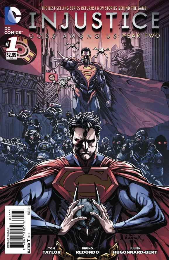 ARC Review: Injustice – Gods Among Us, Year 2, Vol. 1