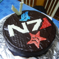 Mass Effect - Flourless Chocolate Cake