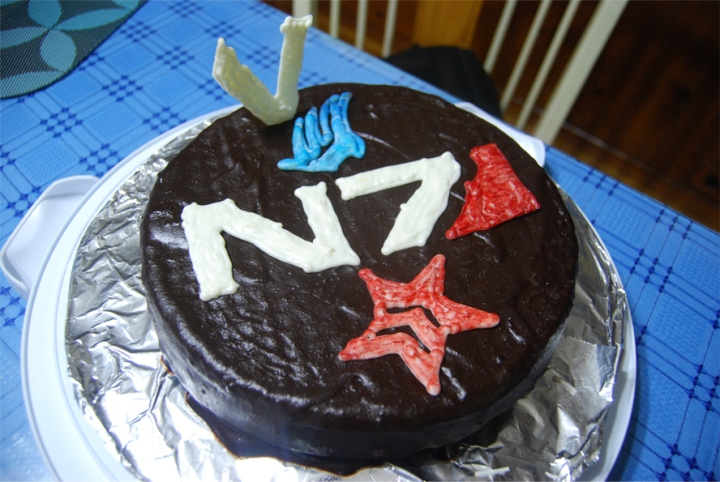 Food and Fandom: N7 Cake