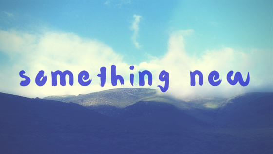 Short Story: Something New