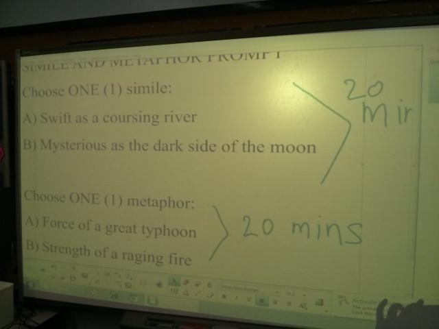 Writing Wednesdays 2 Similes And Metaphors