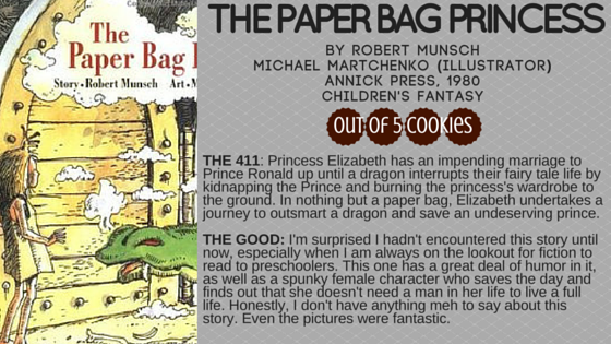 Mini-Reviews: The Paper Bag Princess, Red Sonja Unchained