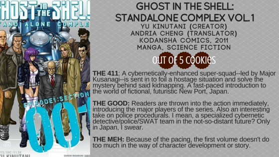 Mini-Reviews: Ghost in the Shell, Sleeper and the Spindle