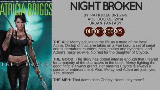Mini-Reviews: Night Broken, Locke &Key