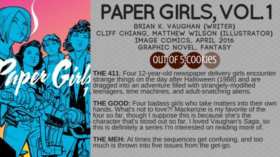 Mini-Reviews: Paper Girls, I HateFairyland
