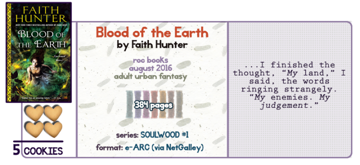 Werecats and Urban Fantasy || Blood of the Earth Review