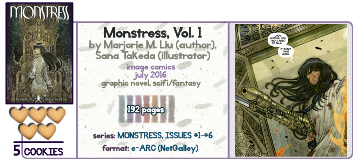 Steampunk Madness and Matriarchs || Monstress, Vol. 1 Review