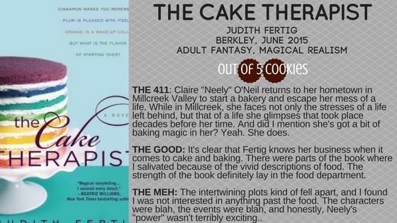 Mini-Reviews: The Cake Therapist, SnowWhite