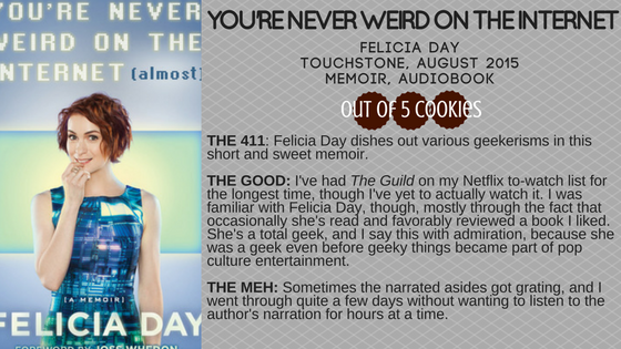 Mini-Reviews: Felicia Day, Neil Patrick Harris