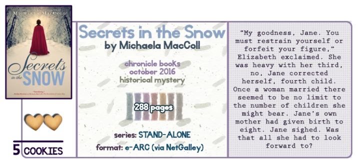 Romance and Espionage in Regency Period || Secrets in the Snow Review