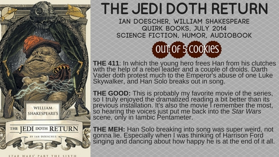 Mini-Reviews: The Empire Striketh Back, The Jedi Doth Return
