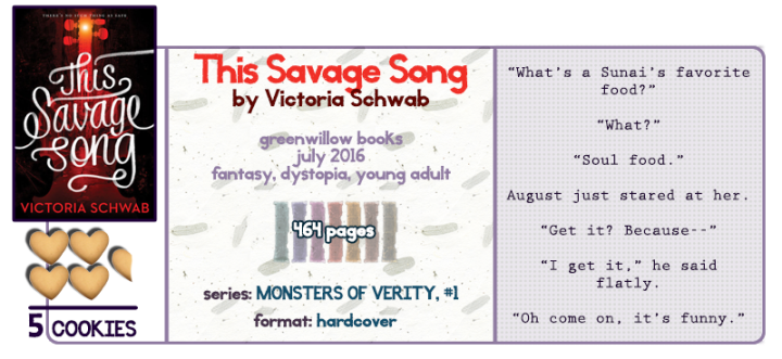 Romeo and Juliet With Monsters? YESPLS || This Savage Song Review