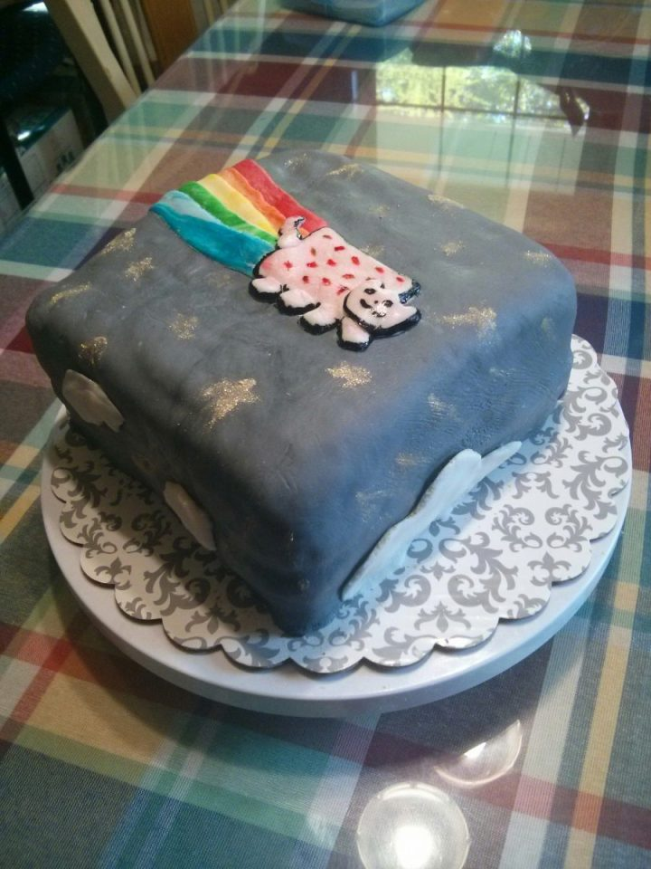 Food and Fandom: Nyan Cat Cake