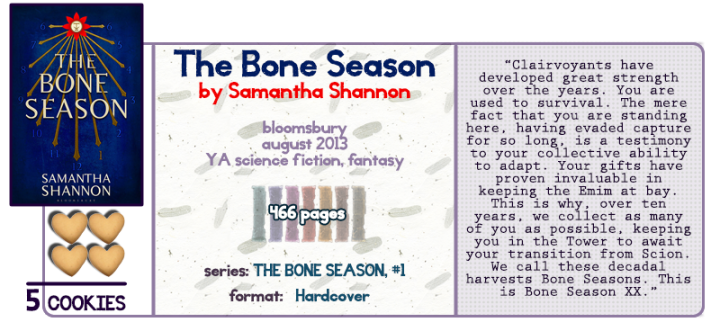 A Hierarchy of Sixth Senses || The Bone Season Review