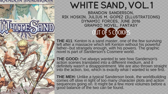 Mini Reviews: White Sand, The Way of Shadows