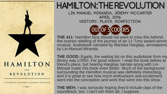 Mini Reviews: Hamilton,Legenderry