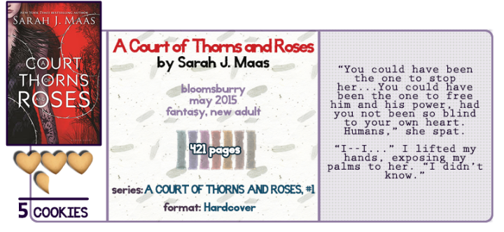 Beauty, Beast, and Sexy Times || A Court of Thorns and Roses Review