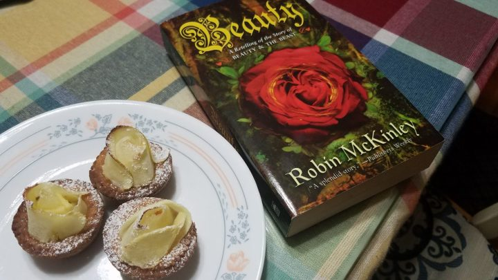 Food and Fandom: Beauty's Rose Apple Tarts