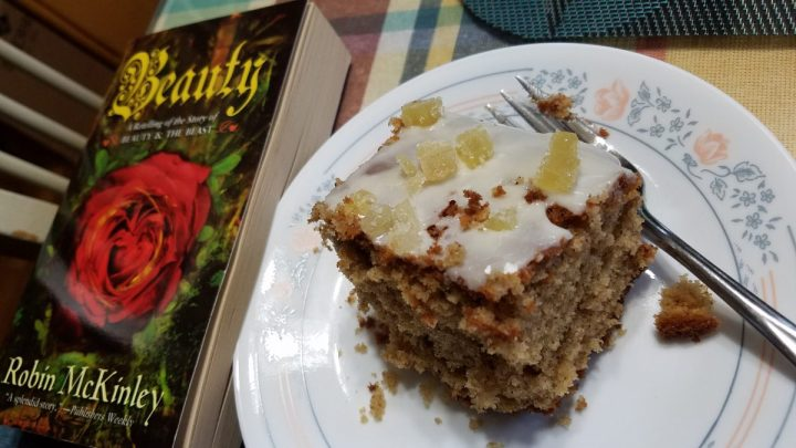 Food and Fandom: Beauty's Spiced Treacle Cake
