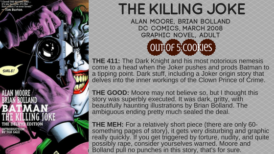 Mini Reviews: The Killing Joke, Trigger Warning
