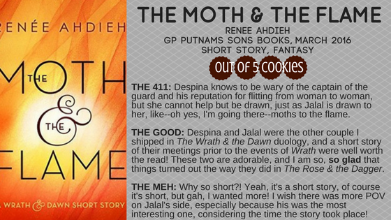 Mini Reviews: Wrath & Dawn short stories, KingGeorge