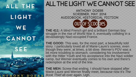 Mini Reviews: All the Light We Cannot See, WakingGods