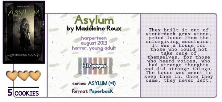 I Avoid Horror Stories…Except When I Don't || Asylum Review