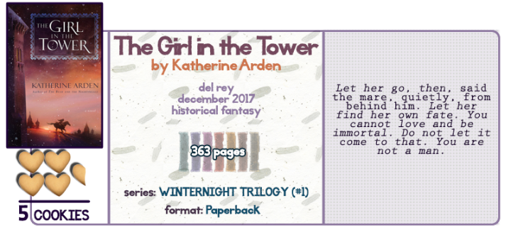 The Girl in the Tower || A Review