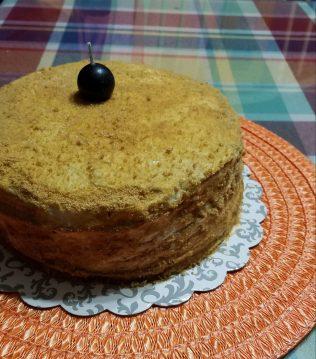 The Girl in the Tower - Medovik/Honey Cake