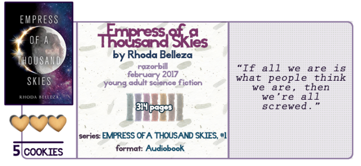 Empress of a Thousand Skies || Review