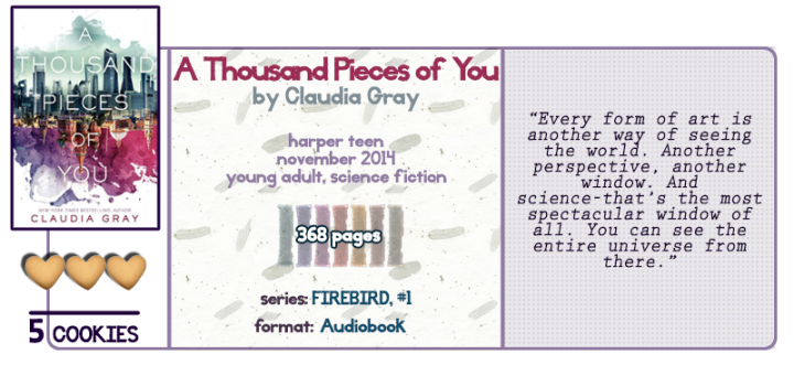 Love in the Multiverse || A Thousand Pieces of YouReview