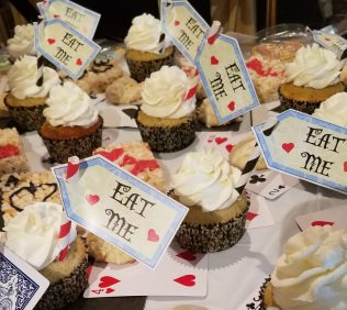Alice's Adventures in Wonderland - Tea Party Cupcakes