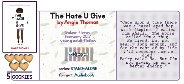 Damn Those Book Onions The Hate U Give Review Story And Somnomancy