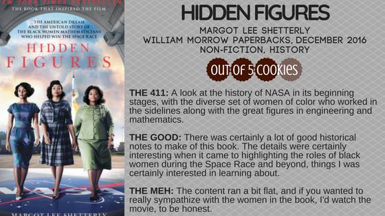 Mini Reviews: Hidden Figures, Snow LikeAshes