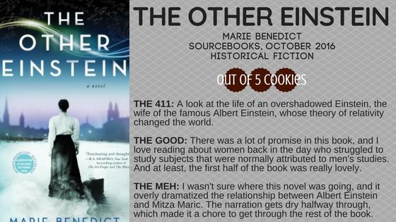 Mini Reviews: The Other Einstein,Bootleg