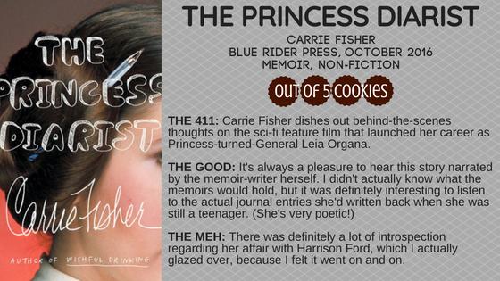 Mini Reviews: The Princess Diarist, Aristotle and Dante Discover the Secrets of the Universe