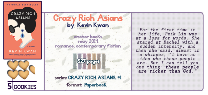 Beautiful, Dirty, Rich || Crazy Rich Asians Review