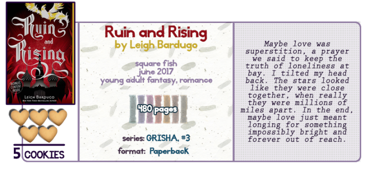 A Light at the End || Ruin and Rising Review