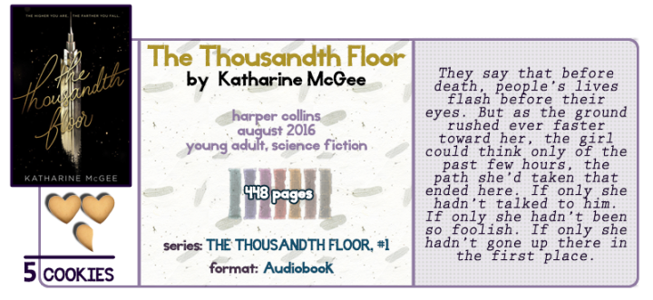 What Goes Up Must Come Down || The Thousandth Floor Review