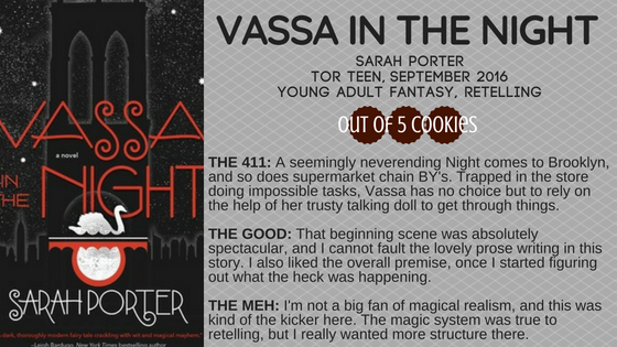 Mini Reviews: Vassa in the Night, Death Comes to Pemberley