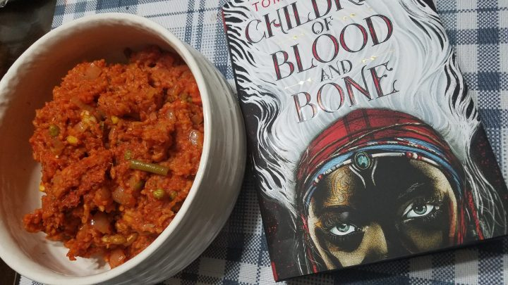 Food and Fandom: Zelie's Jollof Rice