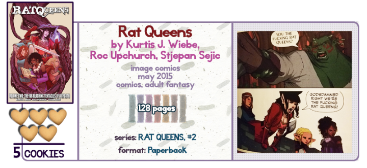 Sass and Sword and Sorcery || Rat Queens Review
