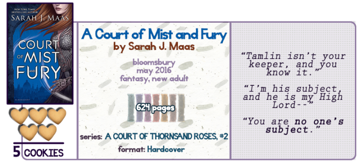 Trappings of the Night Court || A Court of Mist and Fury Review
