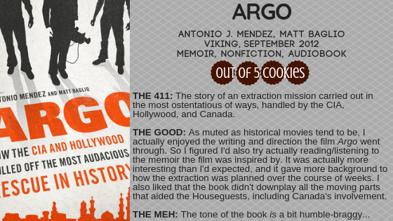 Mini Reviews: Argo, Good Night Stories for Rebel Girls