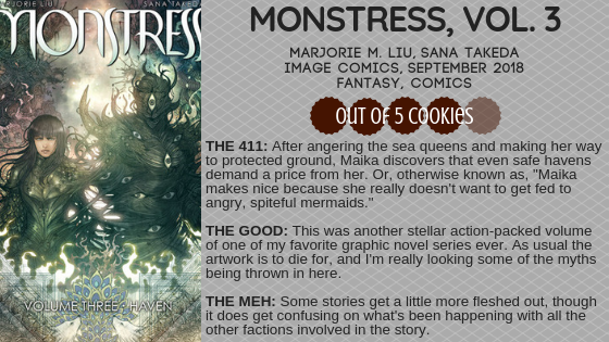 Mini Reviews: Monstress Vol. 3, A Study in Charlotte